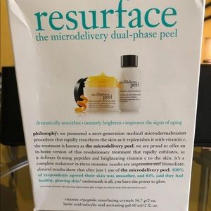 Brand new resurface microdermabrasion kit.